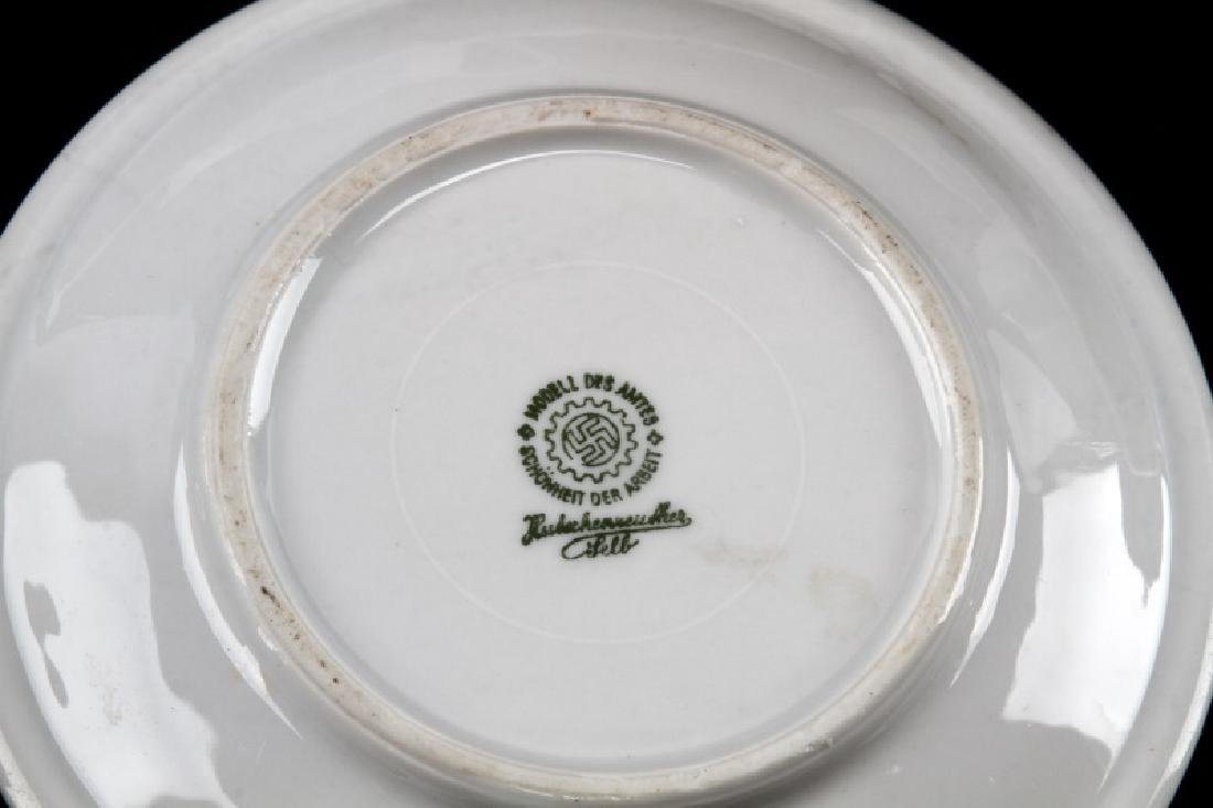 WWII GERMAN 3RD REICH MILITARY MESS HALL DISH LOT - 8