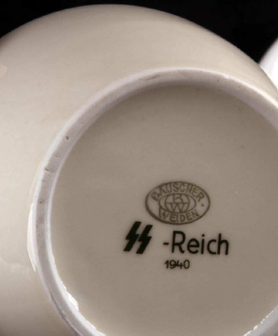 WWII GERMAN 3RD REICH MILITARY MESS HALL DISH LOT - 7
