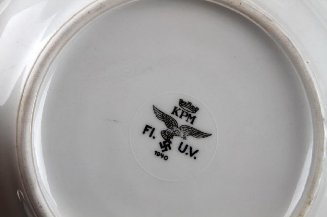 WWII GERMAN 3RD REICH MILITARY MESS HALL DISH LOT - 9