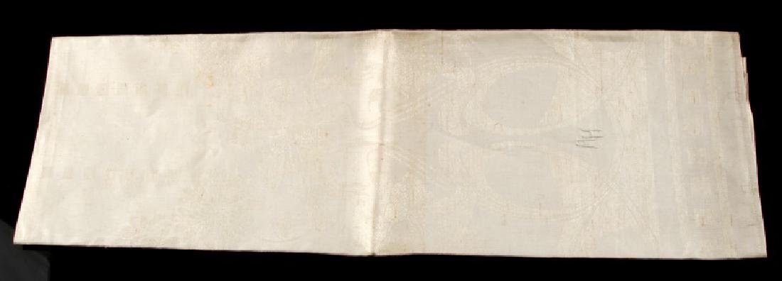 WWII GERMAN ADOLF HITLER PERSONAL TABLE CLOTH - 5