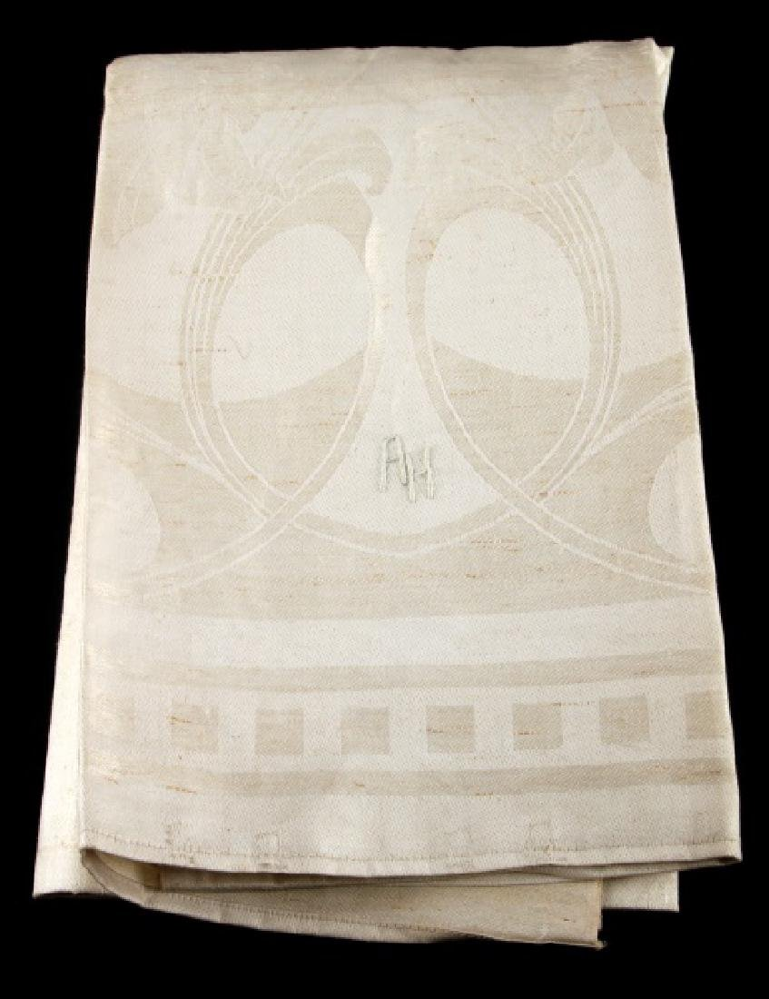 WWII GERMAN ADOLF HITLER PERSONAL TABLE CLOTH - 6
