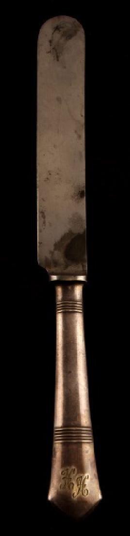 WWII GERMAN 3RD REICH HIMMLER SILVER BUTTER KNIFE