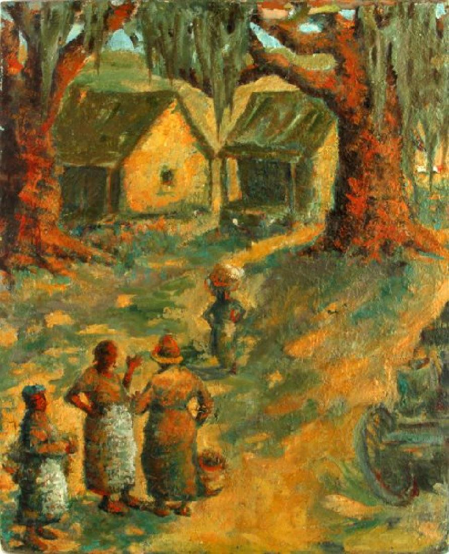 ALICE SCOTT SCANLAND OIL PAINTING AMERICAN SOUTH