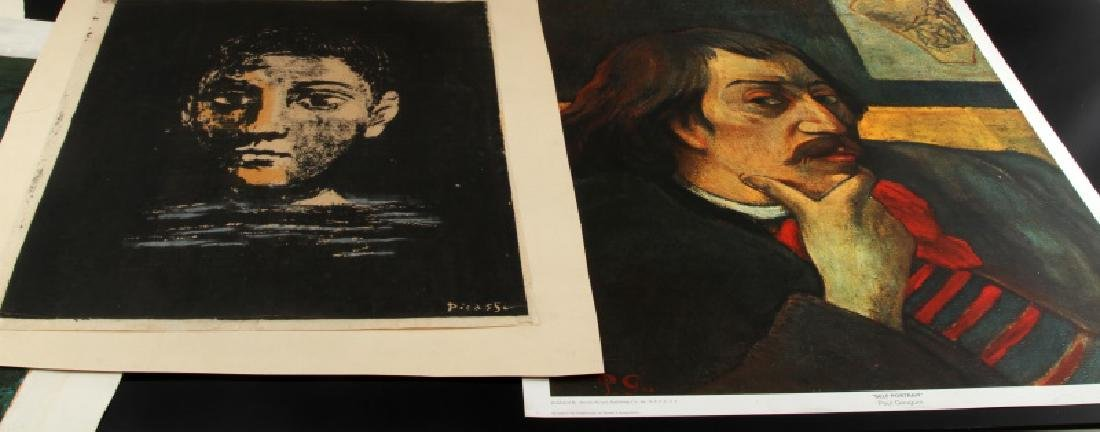 LOT OF 7 ASSORTED 20TH CENTURY ART PRINTS & PROOFS - 9