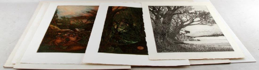 CHARLES THOMAS LANSCAPE LIMITED EDITION PRINT LOT