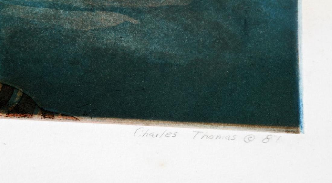 CHARLES THOMAS SURREALIST NUDE EROTIC PRINT LOT - 5