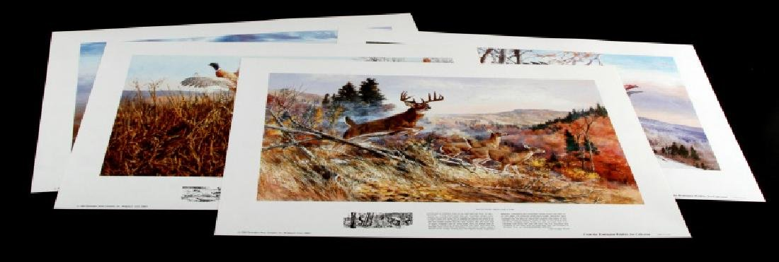 REMINGTON NORTH AMERICAN WILDLIFE PRINT LOT