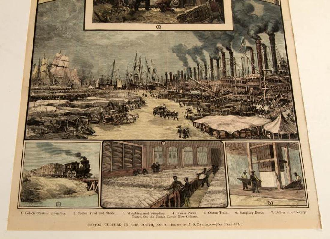 19TH CENTURY HARPERS FERRY NEWSPAPER ETCHINGS LOT - 7