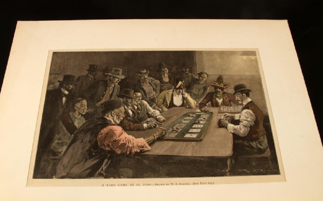 19TH CENTURY HARPERS FERRY NEWSPAPER ETCHINGS LOT - 9
