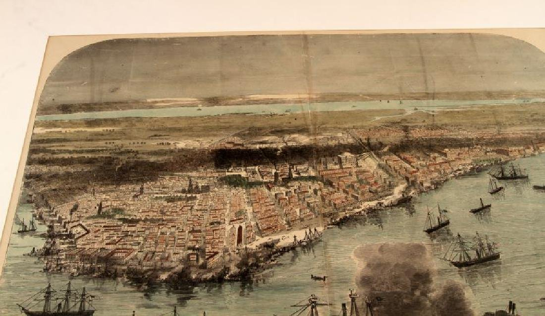 1888 HAND COLORED ILLUSTRATION NEW ORLEANS BY WAUD - 2