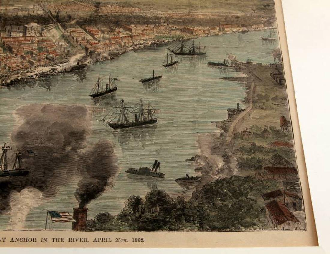 1888 HAND COLORED ILLUSTRATION NEW ORLEANS BY WAUD - 3
