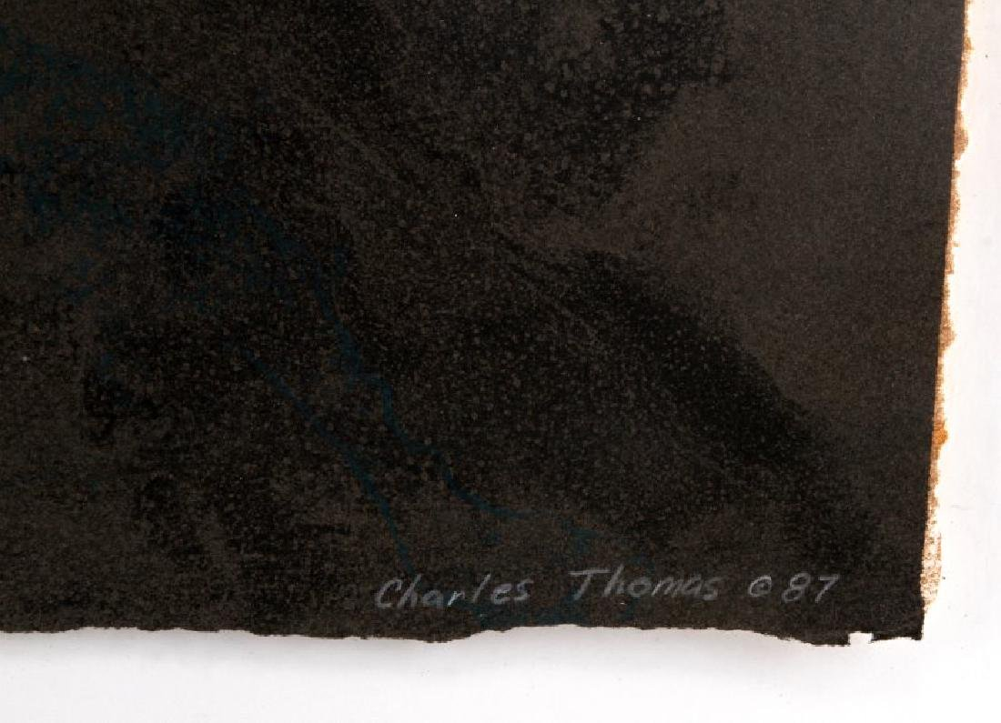 ABSTRACT ART CHARLES THOMAS ARTIST PROOF LOT - 6