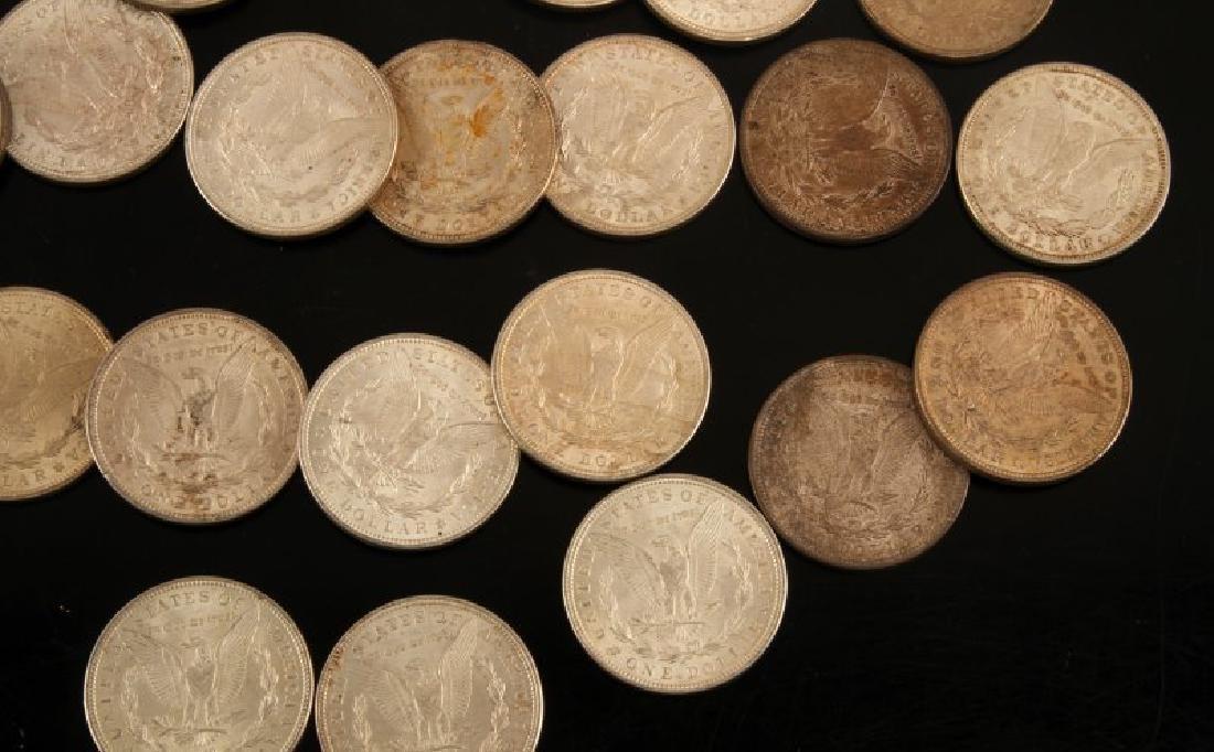 24 MORGAN SILVER DOLLAR COIN LOT ALL UNC 1921'S - 5