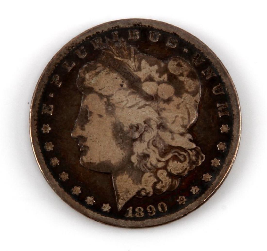 1890 CC CARSON CITY MORGAN SILVER DOLLAR KEY DATE
