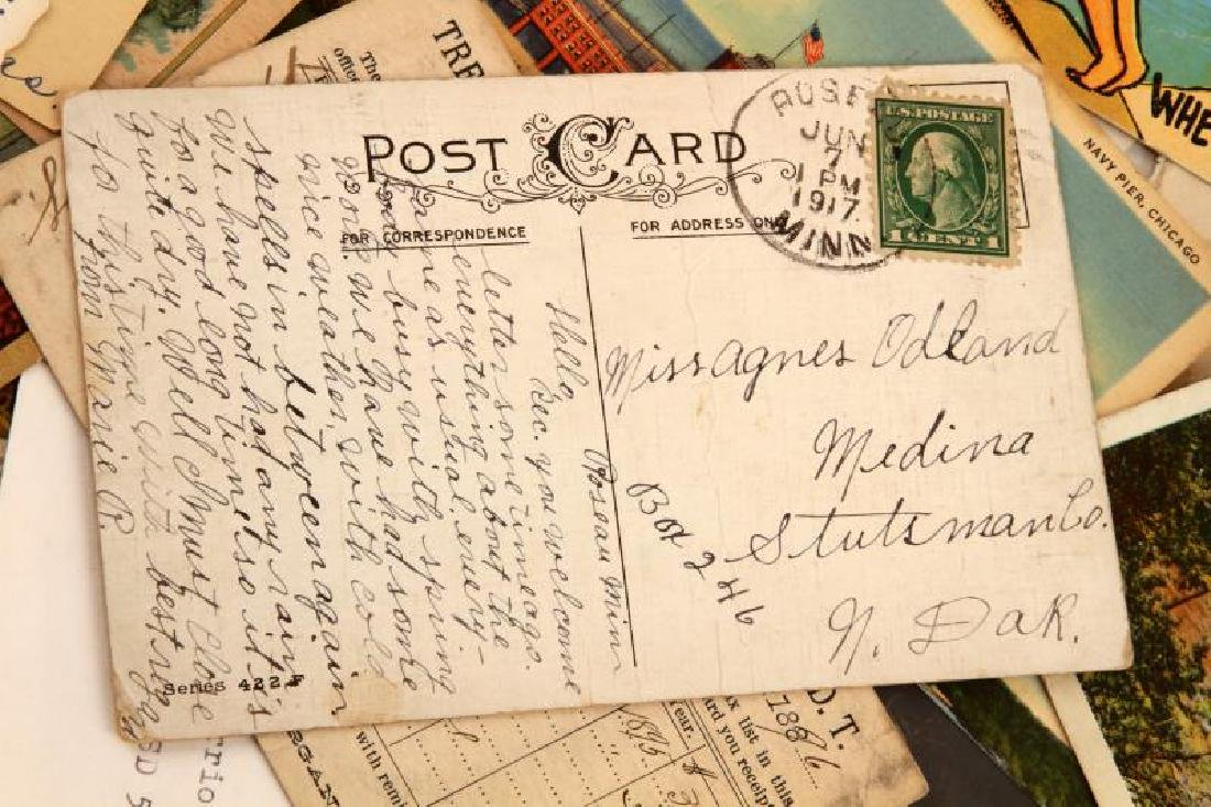 POSTAL EPHEMERA  LOT FROMI 19TH CENTURY TO PRESENT - 7