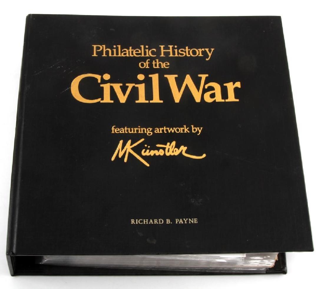 PHILATELIC CIVIL WAR HISTORY RARE FDI COVER ALBUM