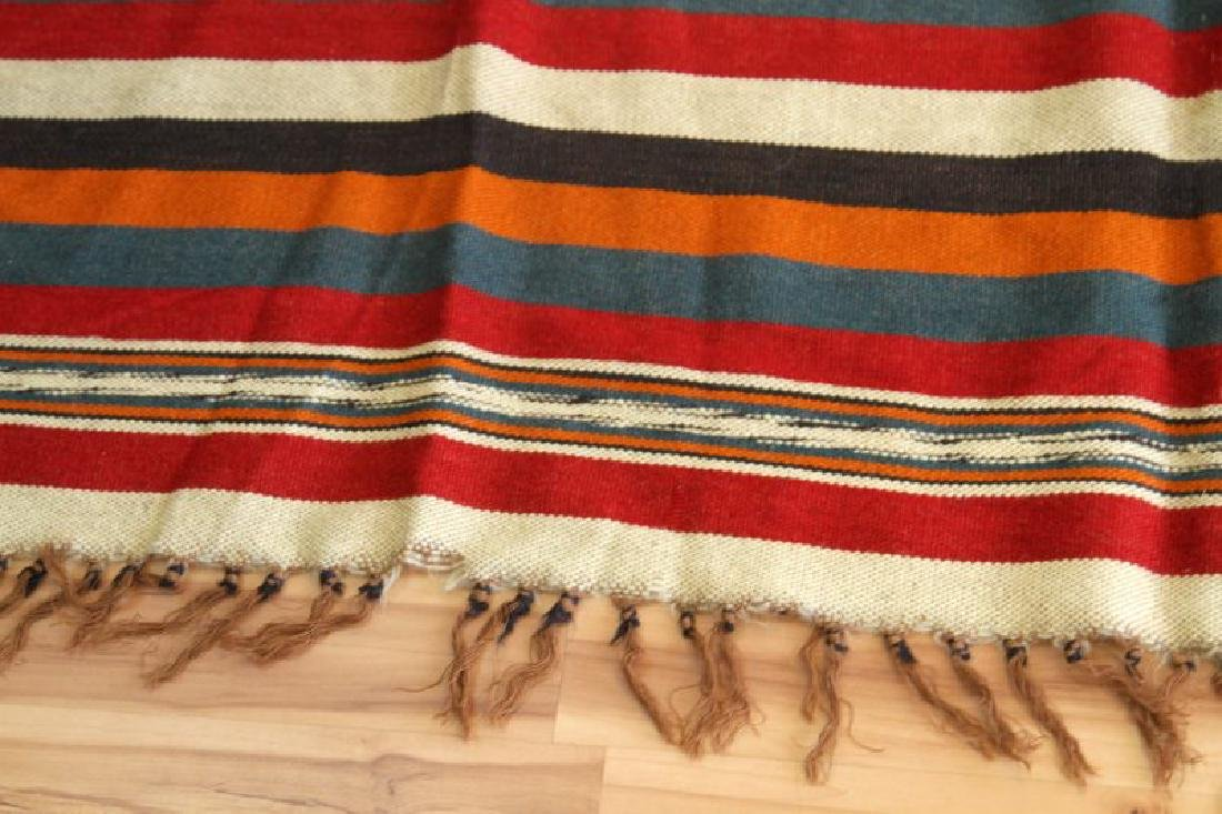 VINTAGE NATIVE AMERICAN SERAPE SHOULDER BLANKET - 3