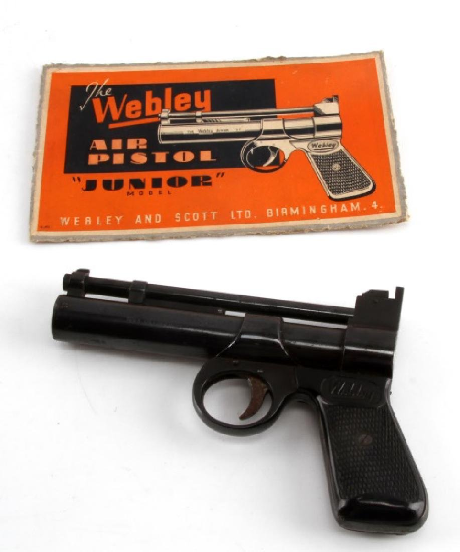 WEBLEY JUNIOR SERIES 2 VINTAGE AIR PISTOL .177