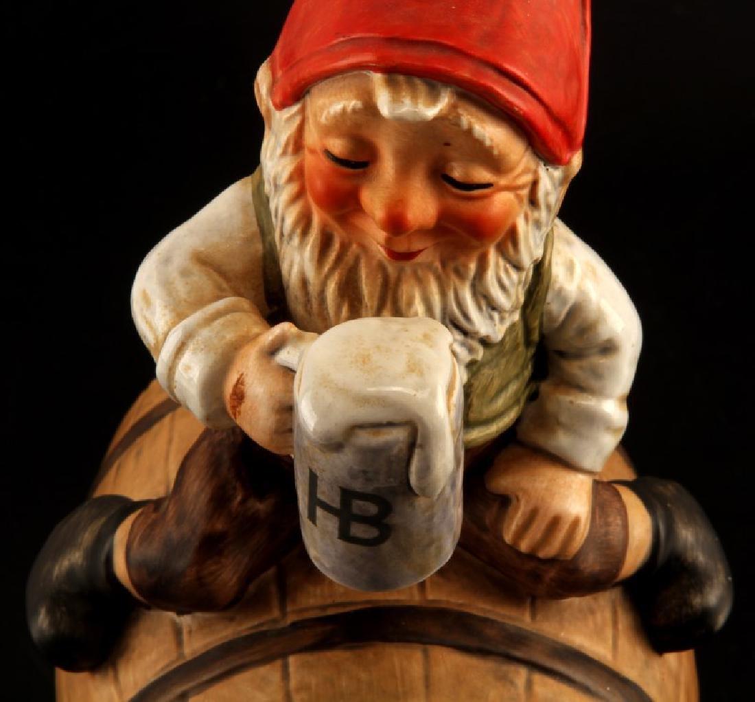 GOEBEL GNOME SEPP BEER CLOCK BARREL FIGUIRINE - 2