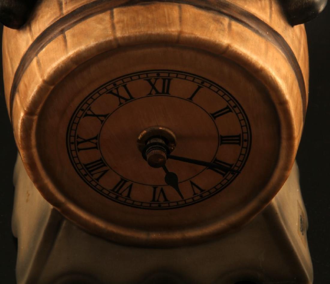 GOEBEL GNOME SEPP BEER CLOCK BARREL FIGUIRINE - 3