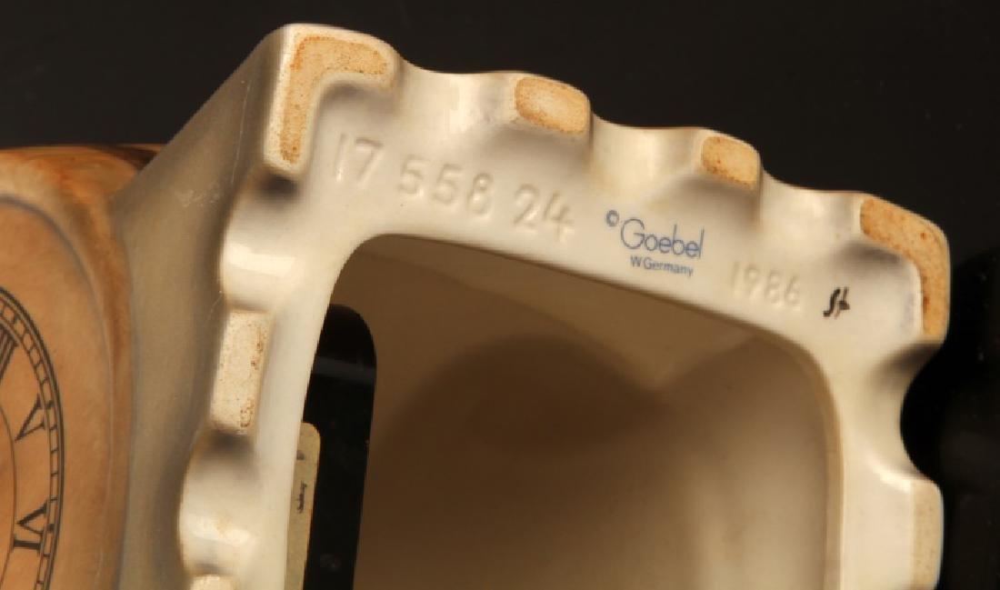 GOEBEL GNOME SEPP BEER CLOCK BARREL FIGUIRINE - 6