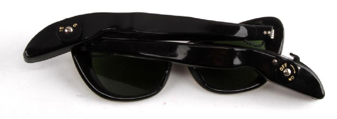 VINTAGE RETRO CATS EYE TRANSISTOR RADIO SUNGLASSES - 3