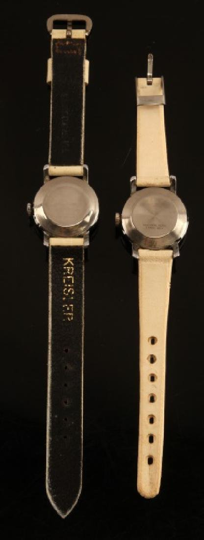 2 ANTIQUE LUCY PEANUTS 1952 WRIST WATCH LOT - 3