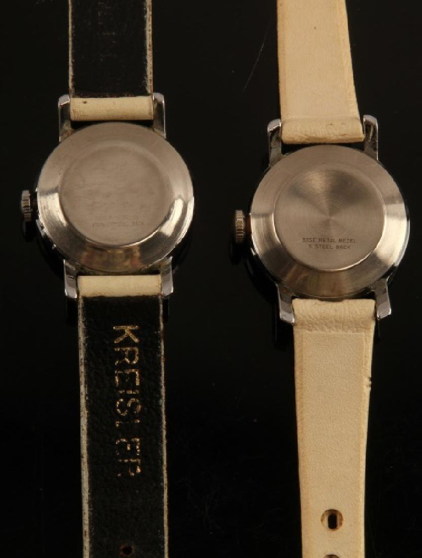 2 ANTIQUE LUCY PEANUTS 1952 WRIST WATCH LOT - 4