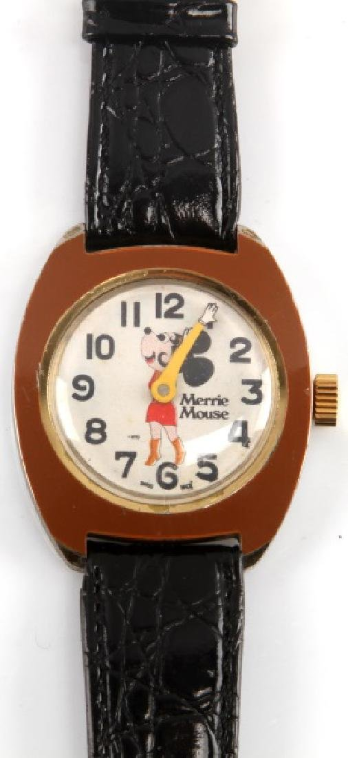 MERRIE MOUSE SPECIAL HANDS SWISS MADE WRIST WATCH - 2