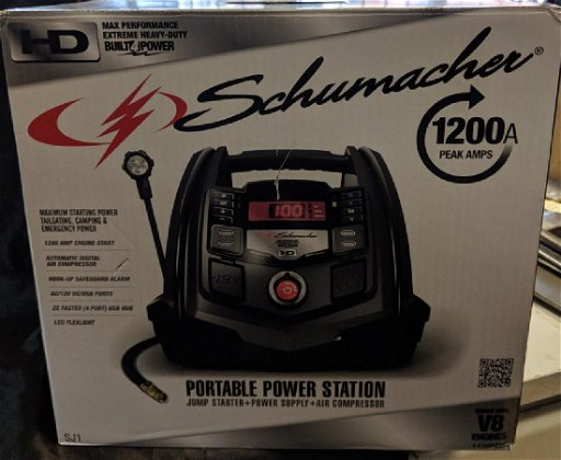 SCHUMACHER MULTI FUNCTION PORTABLE POWER STATION