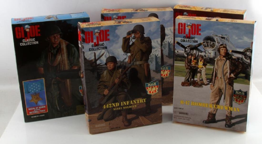 LOT OF 5 BRAND NEW UNOPENED GI JOE SETS