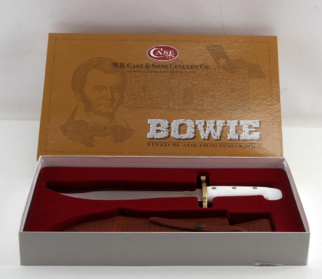 CASE HUNTER BOWIE FIXED KNIFE W SHEATH NIB 02000