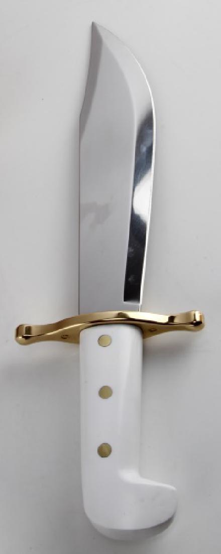 CASE HUNTER BOWIE FIXED KNIFE W SHEATH NIB 02000 - 3