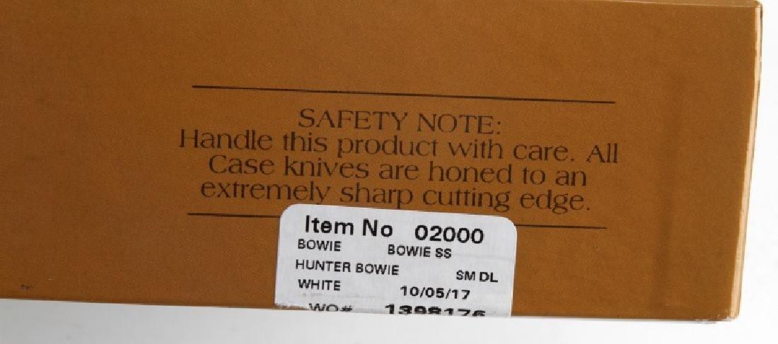 CASE HUNTER BOWIE FIXED KNIFE W SHEATH NIB 02000 - 4