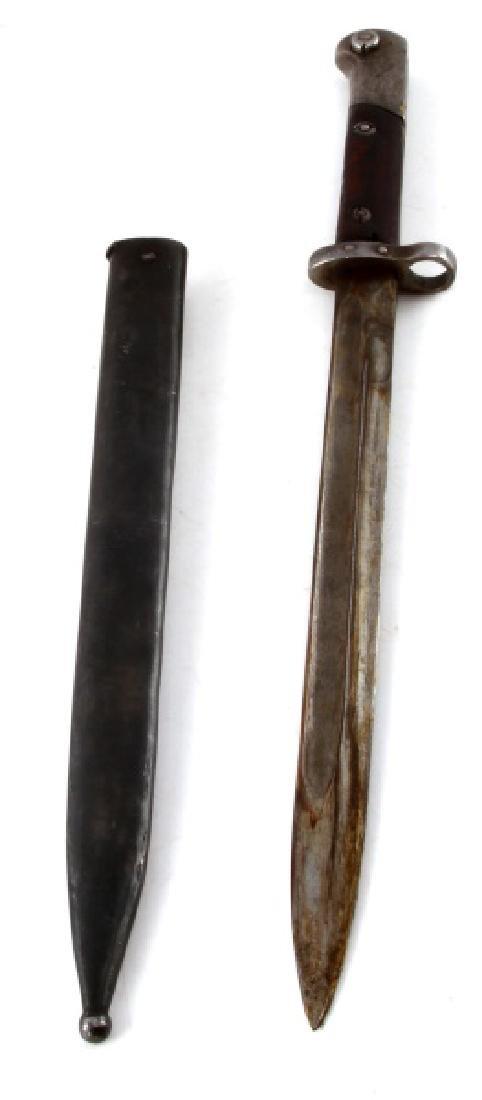 WWI AUSTRIAN MANNLICHER M1895 BAYONET W SCABBARD