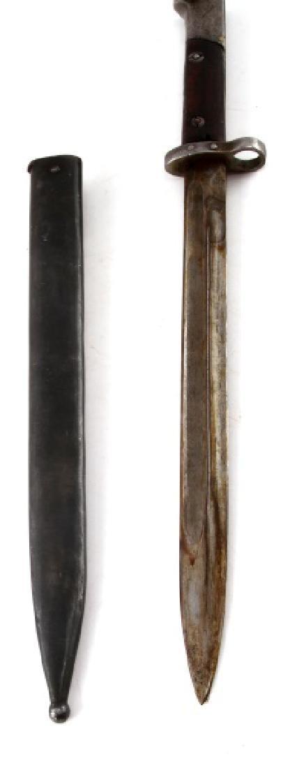WWI AUSTRIAN MANNLICHER M1895 BAYONET W SCABBARD - 3