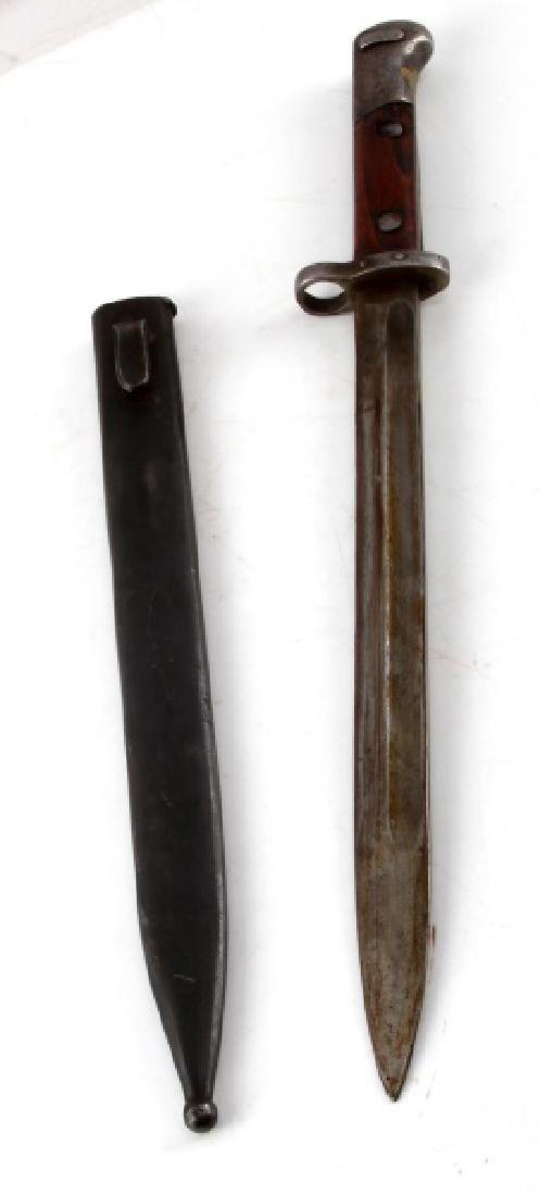 WWI AUSTRIAN MANNLICHER M1895 BAYONET W SCABBARD - 5