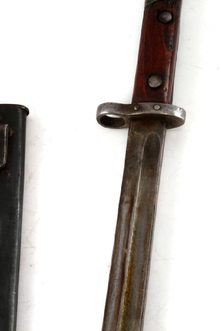 WWI AUSTRIAN MANNLICHER M1895 BAYONET W SCABBARD - 6
