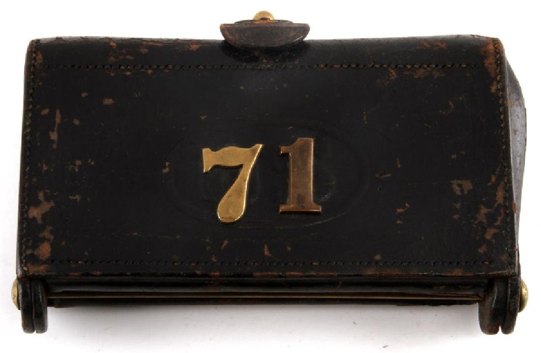 US .45 70 GOVT AMMO POUCH ANSON MILLS DEC 28 1880