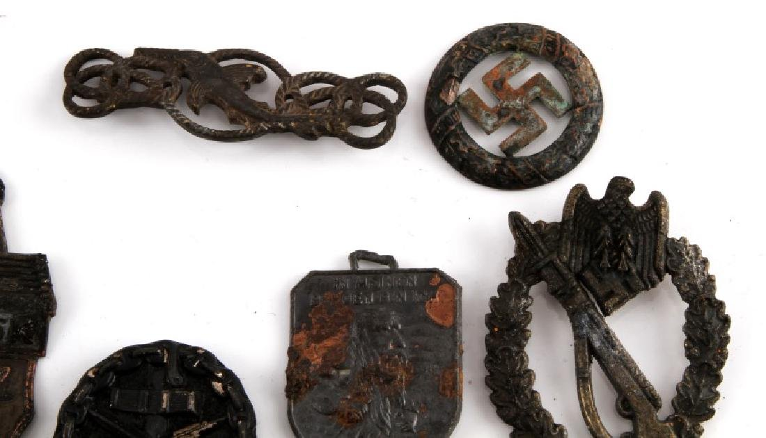 WWII GERMAN THIRD REICH ASSORTED BADGE AND PIN LOT - 3