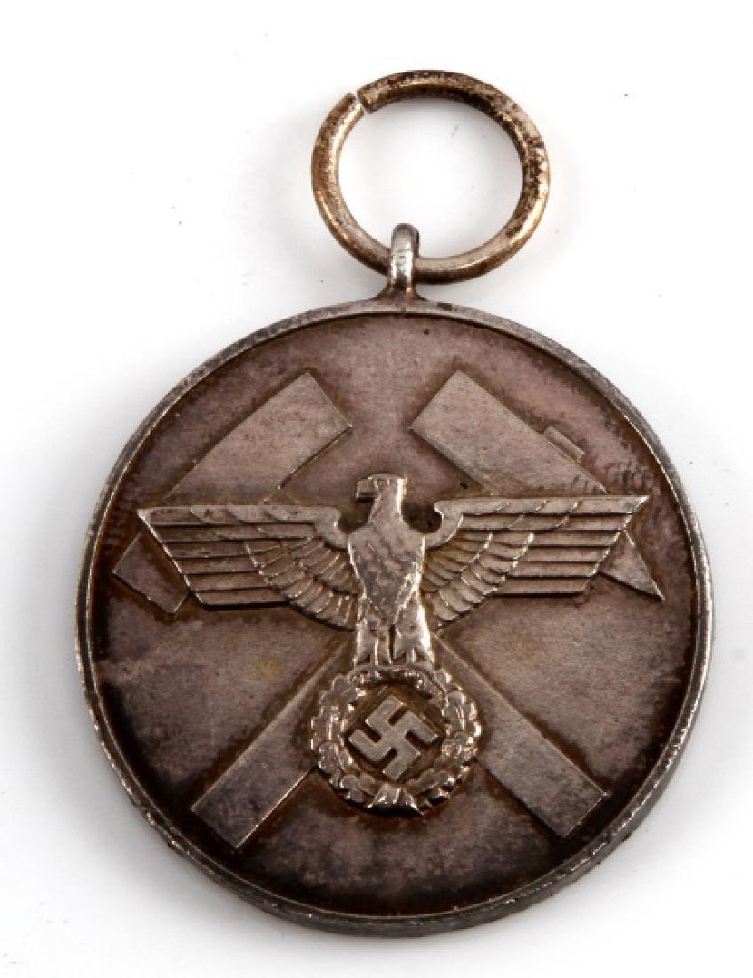 WWII GERMAN THIRD REICH MINE RESCUE SERVICE MEDAL