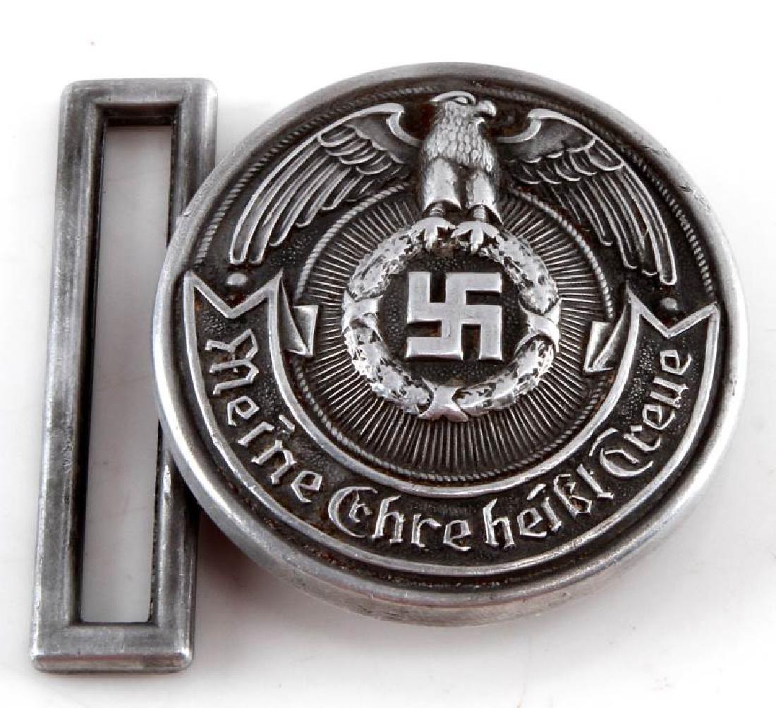 WWII GERMAN THIRD REICH SS BELT BUCKLE