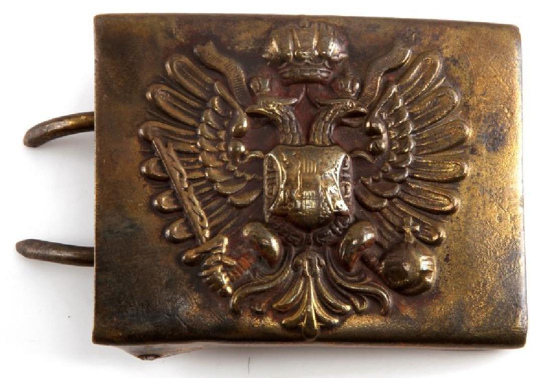 WWI ERA  AUSTRO HUNGARIAN EMPIRE EM BELT BUCKLE