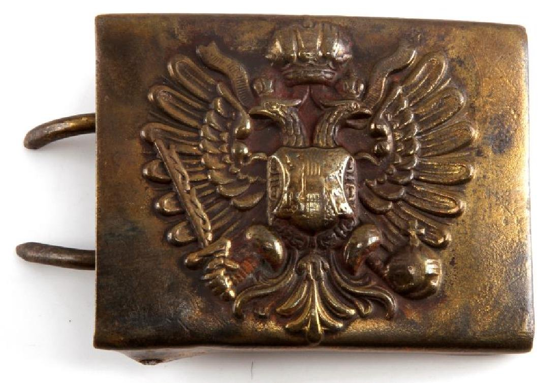 WWI ERA  AUSTRO HUNGARIAN EMPIRE EM BELT BUCKLE