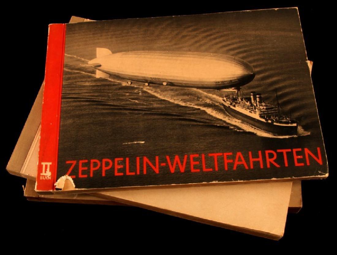 PRE WWII GERMAN ZEPPELIN WORLD PHOTO BOOK LOT