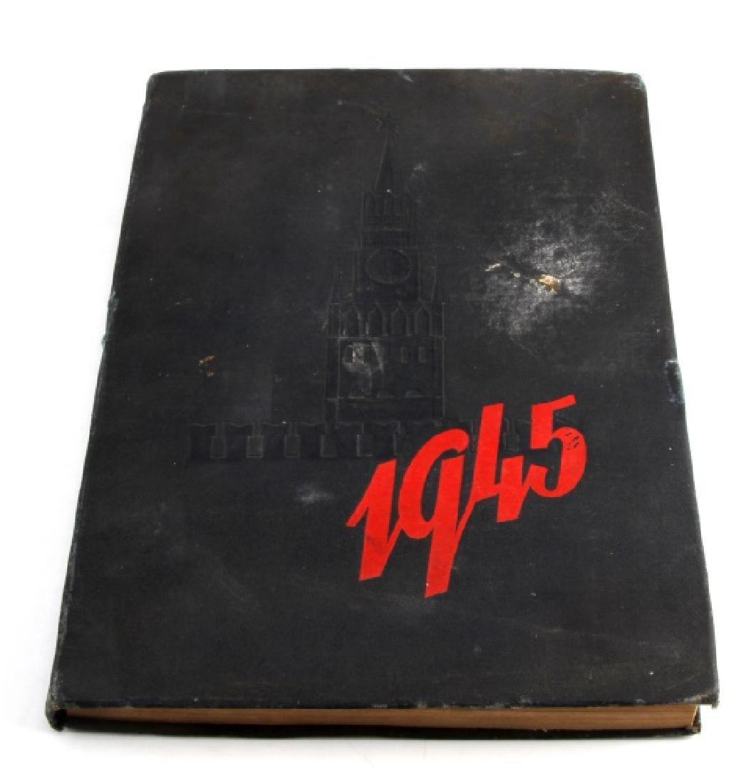 SOVIET CALENDAR 1945 WARTIME PROPAGANDA BOOK