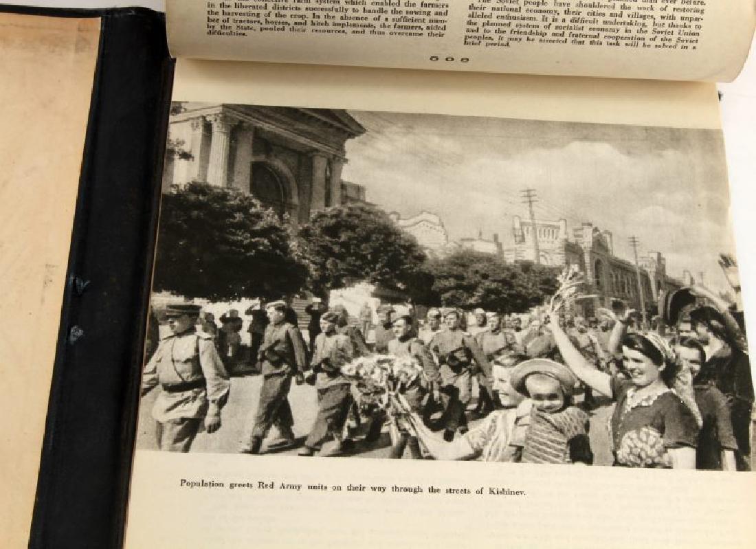 SOVIET CALENDAR 1945 WARTIME PROPAGANDA BOOK - 5