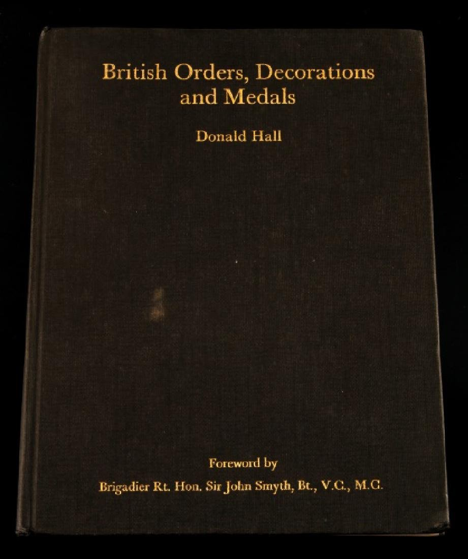 BRITISH ORDERS DECORATIONS & MEDALS SIGNED BY HALL