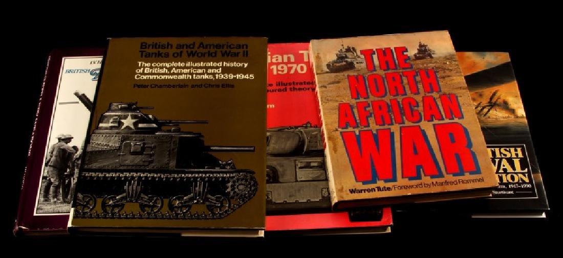 5 MILITARY BOOK LOT BRITISH RUSSIAN AMERICAN ETC