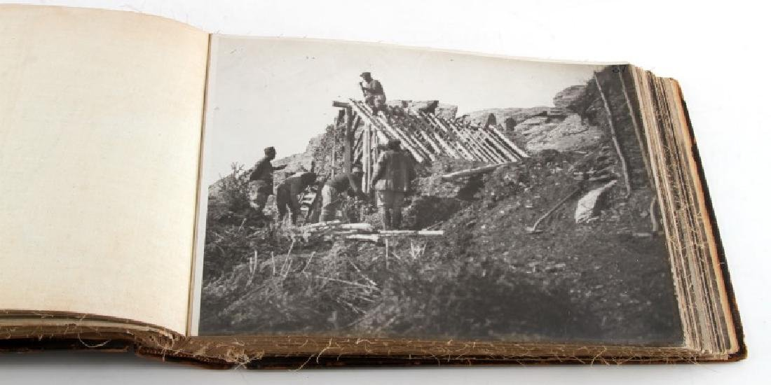 WWI FRENCH MILITARY PHOTO ALBUM MILITARY CIVILIAN - 6
